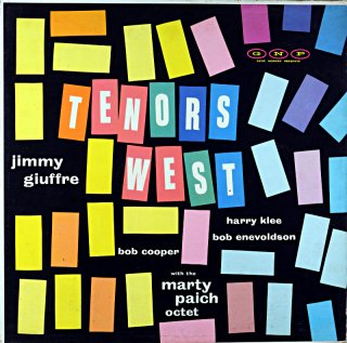 JIMMY GIUFFRE TENORS WEST Us盤