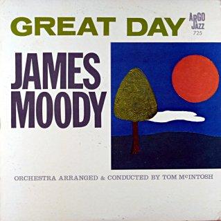 JAMES MOODY GREAT DAY Original盤