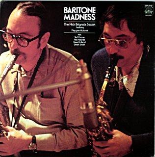NICK BRIGNOLA BARITONE MADNESS Original盤