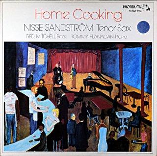 HOME COOKING NISSE SANDSTROM TENOR SAX Swedish盤