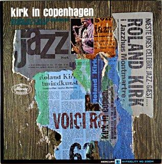 KIRK IN COPENHAGEN ROLAND KIRK