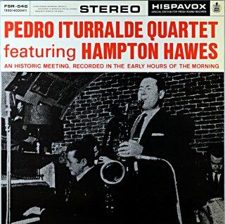 PEDRO ITURRALDE QUARTET FEATURNIG HAMPTON HAWES (Fresh sound盤)