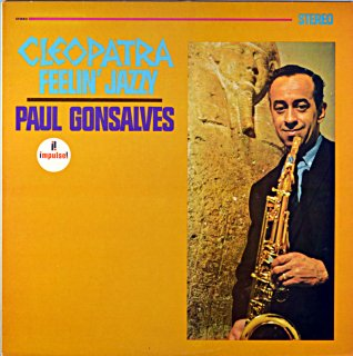 CLEOATRA FEELIN' JAZZY PAUL GONSALVES (Jasmine盤)