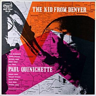 PAUL QUINICHETTE THE KID FROM DENVER (Fresh sound盤)