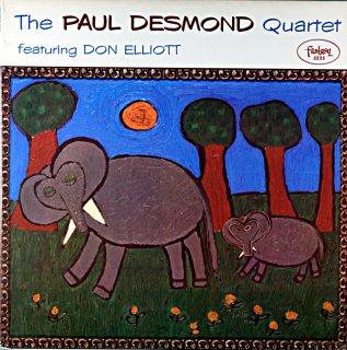 THE PAUL DESMOND QUARTET FEATURING DON ELLIOTT (OJC盤)