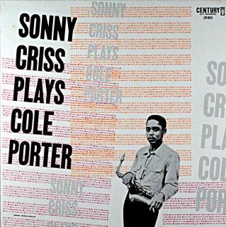 SONNY CRISS PLAYS COLE PORTER