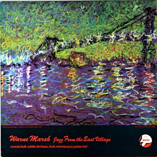 WARNE MARSH JAZZ FROM THE EAST VILLAGE Uk盤
