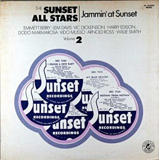 WILLIE SMITH THE SUNSET ALL STARAS
