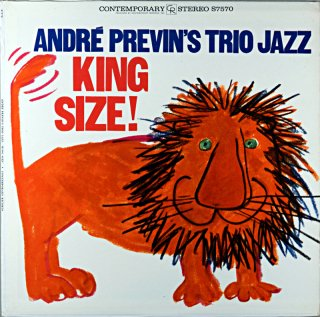 ANDRE PREVIN'S KING SIZE ! Original盤