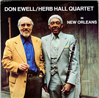 DON EWELL / HERB HALL QUARTET Us盤