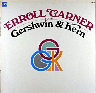 ERROLL GARNER GERSHWIN & KERN German盤