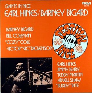 GIANTS IN NICE EARL HINES / BARNEY BIGARD