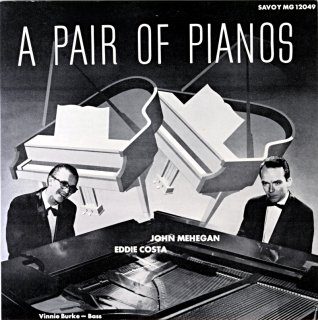 EDDIE COST A PAIR OF PIANOS