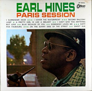 EARL HINES PARIS SESION