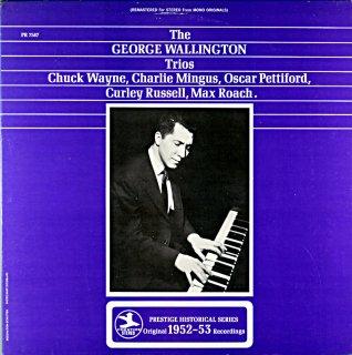THE GEORGE WALLINGTON TRIO Us盤