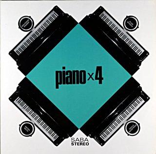 PIANO × 4 WOLFGANG DAUNER German盤