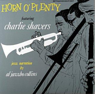 CHARLIE SHAVERS HORN O ' PLENTY 10inch盤