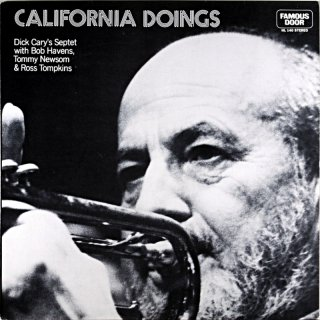 CALIFORNIA DOINGS DICK CARY'S SEPTET Us盤