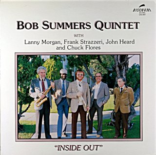 BOB SUMMERS QUINTET /INDIDE OUT Us盤
