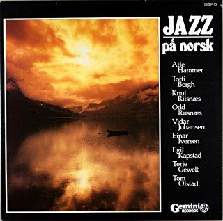 ATLE HAMMER JAZZ PA NORSK Norway盤