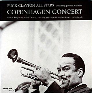 BUCK CLAYTON COPENHAGEN CONCERT Denmark盤 2枚組