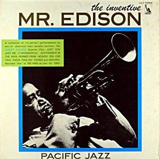 HARRY EDISON INVENTIVE MR. EDISON