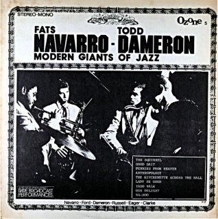 FATS NAVARRO TAD DAMERON MODERN GIANTS OF JAZZ Uk盤