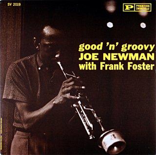 GOOD 'N' GROOVY JOE NEWMAN WITH FRANK FOSTER (OJC盤)