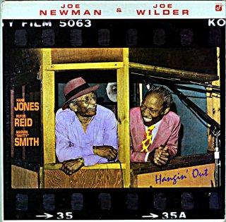 JOE NEWMAN & JOE WILDER HANGIN' OUT Us盤