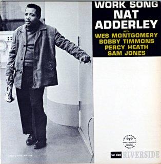 WORK SONG NAT ADDERLEY Original盤