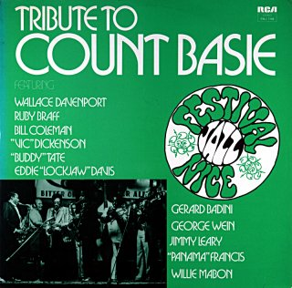 TRIBUTE TO CONT BASIE WALLACE DAVENPORT French盤