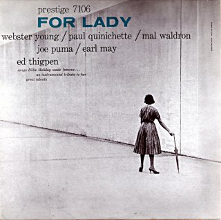 FOR LADY WEBSTER YOUNG (OJC盤)