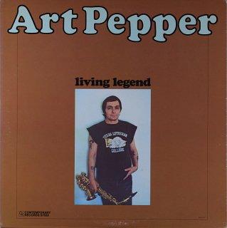 ART PEPPER LIVING LEGEND Original盤