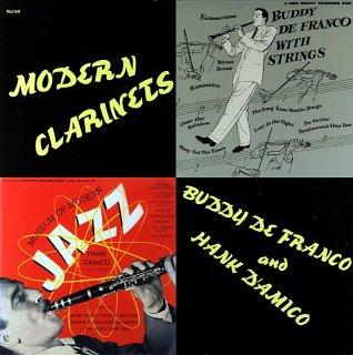 BUDDY DE FRANCO MODERN CLARINETS