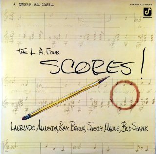 THE L.A. FOUR SCORES ! LAURIND ALMEIDS