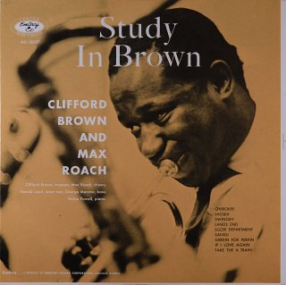 CLIFFORD BROWN STUDY IN BROWN
