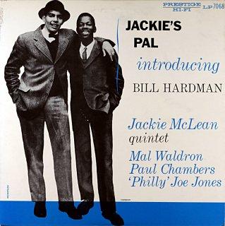 JACKIE McLEAN JACKIE'S INTRODUCING BILL HARDMAN
