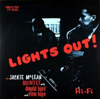 LIGHTS OUT! JACKIE McLEAN QUINTET