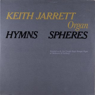 KEITH JARRETT ORGAN HYMNS SPHERES Original盤 2枚組