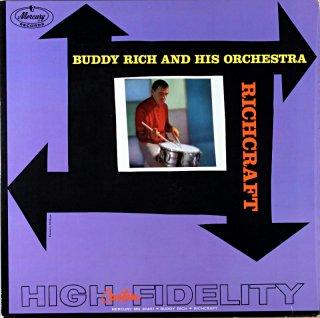 BUDDY RICH RICHOCRAFT Original盤
