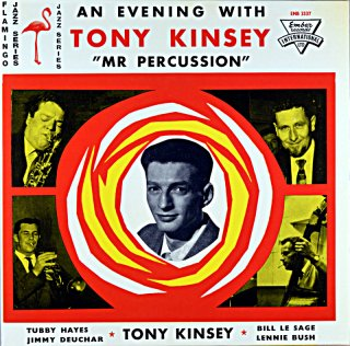 TONY KINSEY AN EVENING WITH TONY KINSEY Us盤