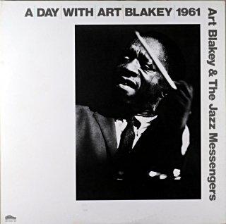 ART BLAKEY A DAY WITH ART BLAKEY 2枚組 Original盤
