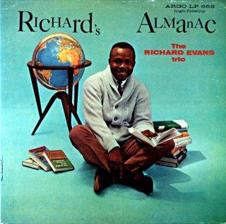 RHCHARD'S ALMANAC / THE RICHARD EVANS TRIO FEATURING JACK WILSON Us盤