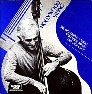 JAC LESBERG HOLLYWOOD SWING THE JACK LESBERG SEXTET Original盤