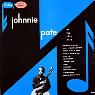 JOHNNIE PATE AT BLUE NOTE (Fresh sound盤)