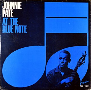 OHNNIE PATE AT THE BLUE NOTE Uk盤