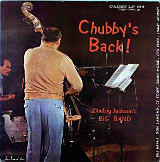 CHUBBY JACKSON CHUBBY'S BACK