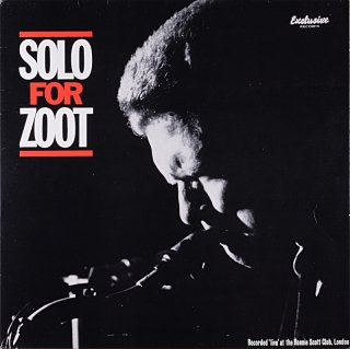 ZOOT SIMS SOLO FOR ZOOT Portugal盤