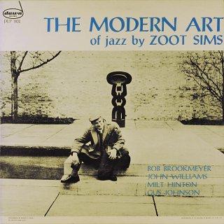 THE MODERN ART OF JAZZ ZOOT SIMS Spanish盤