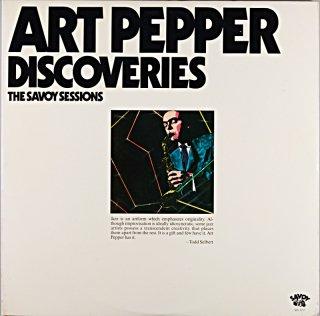 ART PEPPER DISCOVERIES 2枚組 Us盤